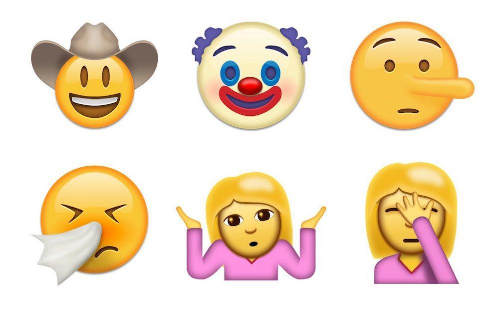 忘掉 ? 吧,这些魔性 Emoji 很快就能用上了!