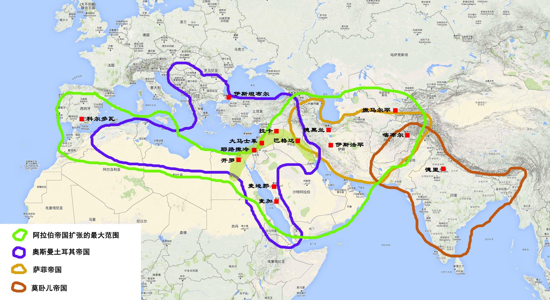 中东地图_【地图看世界】ISIS与中东伊斯兰地理