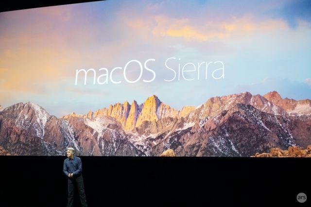 WWDC16 观感:再见 OS X,你好 macOS Sierra