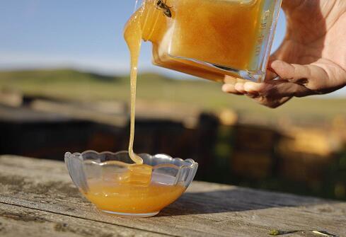 原来的蜂蜜直接吃吗?蜂蜜不会直接吃水吗?