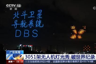 如何看待珠海3051架无人机灯光秀破世界纪录?(图1)