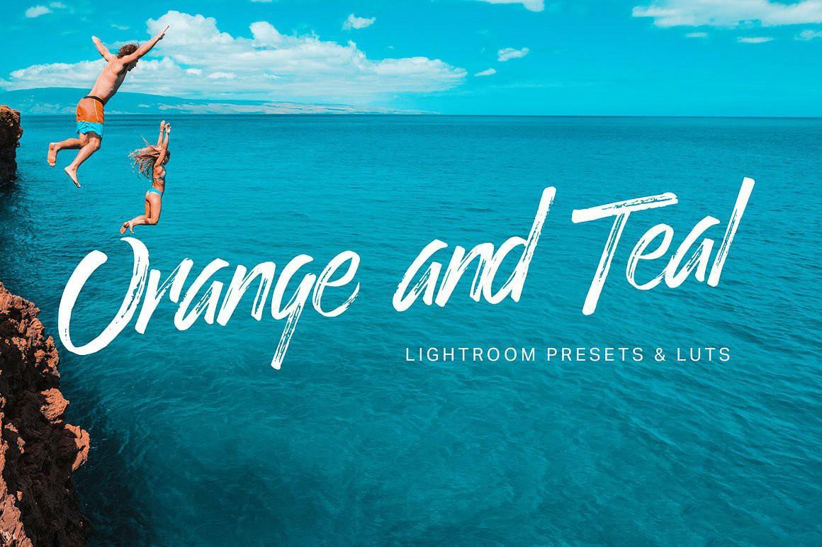 【S332】天青和暖橙色调–流行电影大片级专业电影3D LUTs+LR预设26款Orange Teal  LUTs+Lightroom
