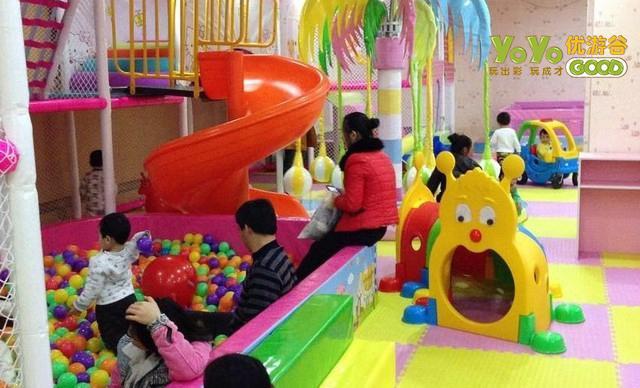 比起一二线,在三四线城市开儿童乐园可行吗? 加盟资讯 游乐设备第2张