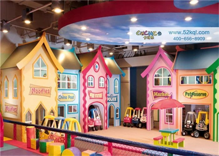 定西儿童乐园的市场 加盟资讯 游乐设备第1张