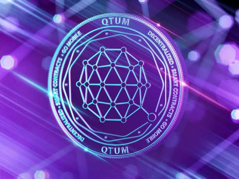 量子链(QTUM)尽管跌98%,但依然稳健