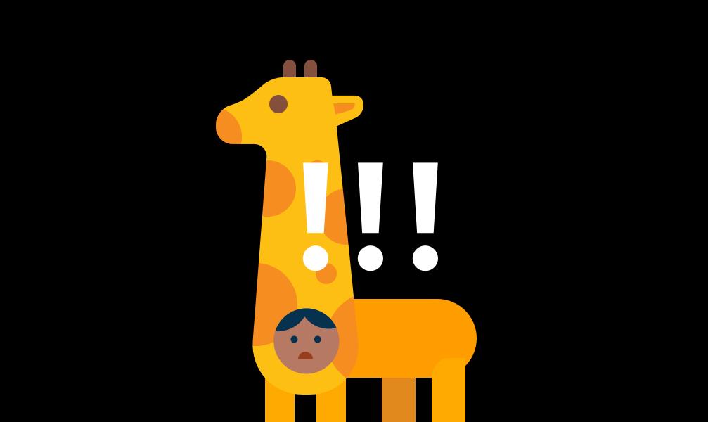 Sketch 15 分钟新手插画教程 – 沉默灭绝中的长颈鹿