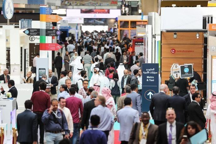 中东卡塔尔是这样办建材展会,难怪参展商的效果非常OK