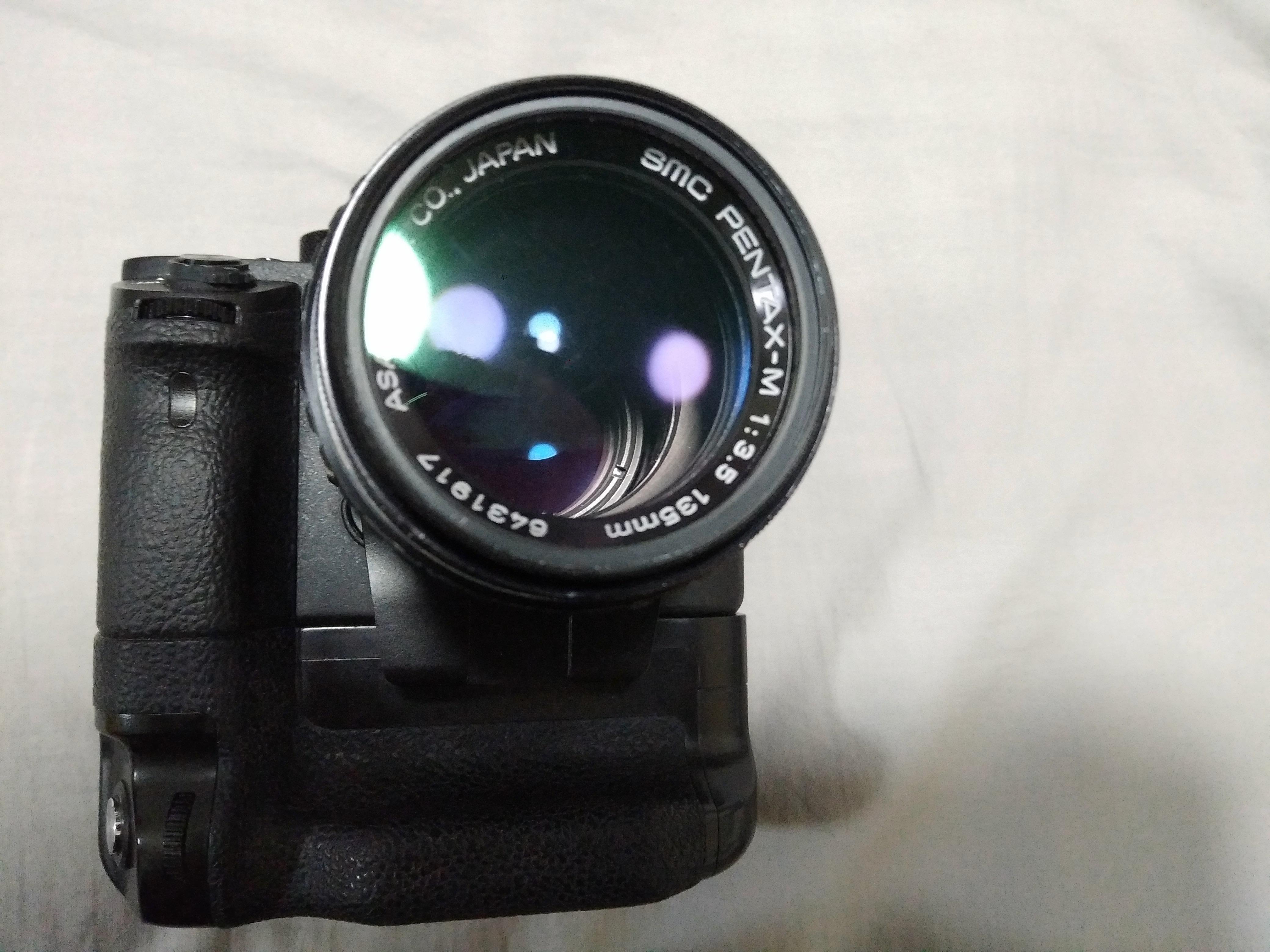 【样片】百元人像:宾得 SMC Pentax-M 135 F3.5 定焦镜头