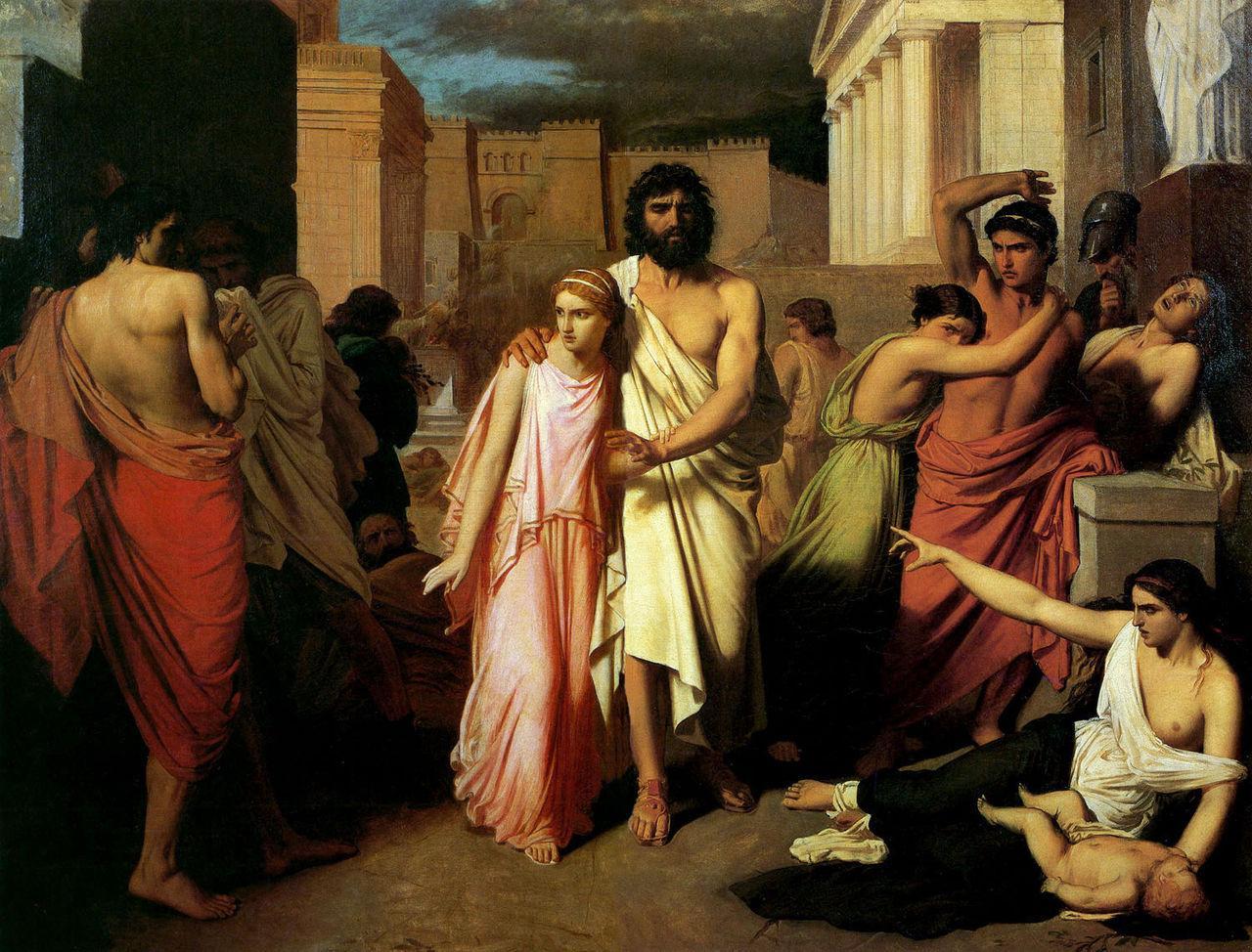 但丁的奇幻之旅|18. 沙地火雨,高傲的将军,正直的公主,与俄狄浦斯的悲剧