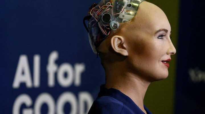 「暧昧骗局」机器人索菲亚