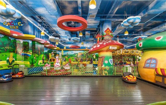 天水儿童乐园充气城堡价格 加盟资讯 游乐设备第1张