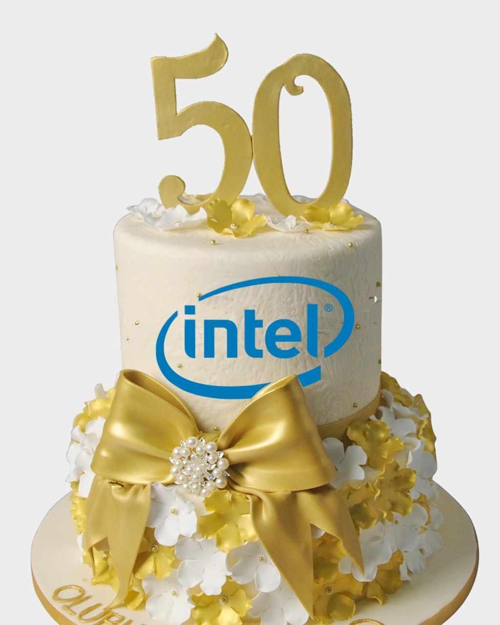 纪念英特尔成立五十周年