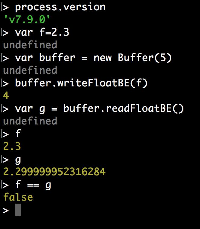 隐藏在 Node.js 浮点反序列化错误背后的故事