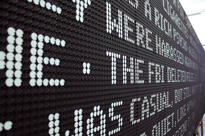 古老的技术(二):机械翻转点阵屏(Flip-dot display)