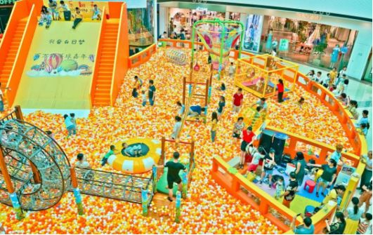 儿童乐园该如何借势节假日达到收益暴涨呢? 加盟资讯 游乐设备第1张