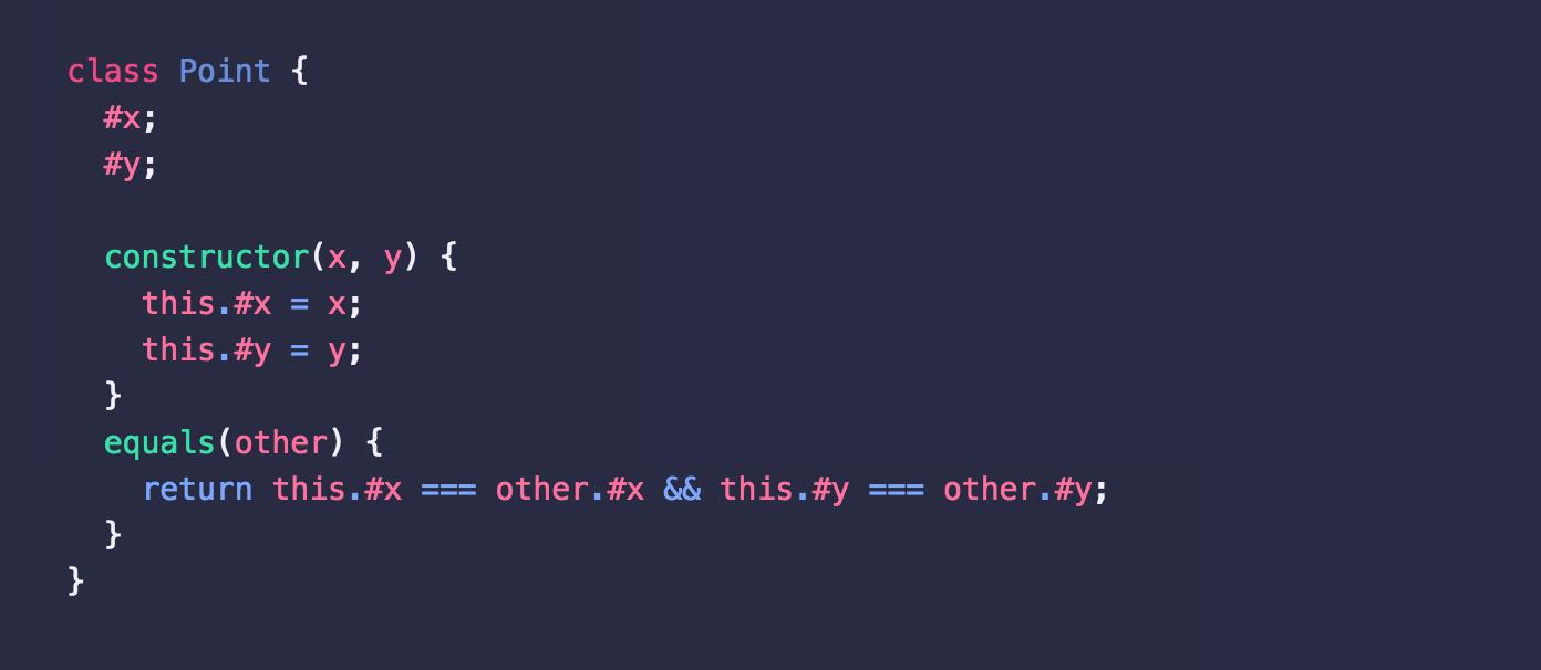 为什么 JavaScript 的私有属性使用 # 符号
