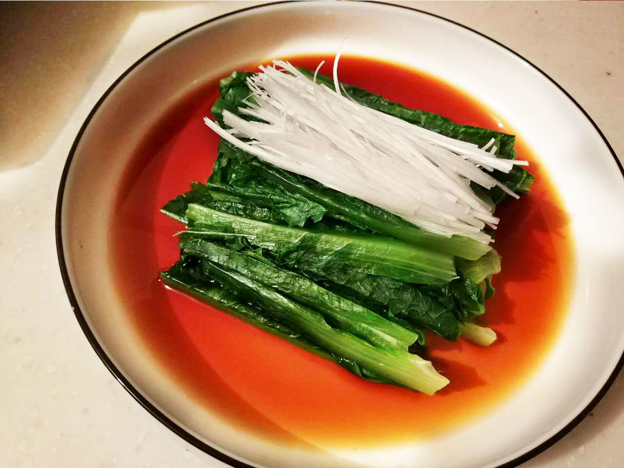 绿叶蔬菜的3种家常做法——炒、蒸、白灼