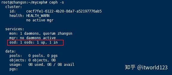 单机版Ceph环境部署,Linux平台- 知乎
