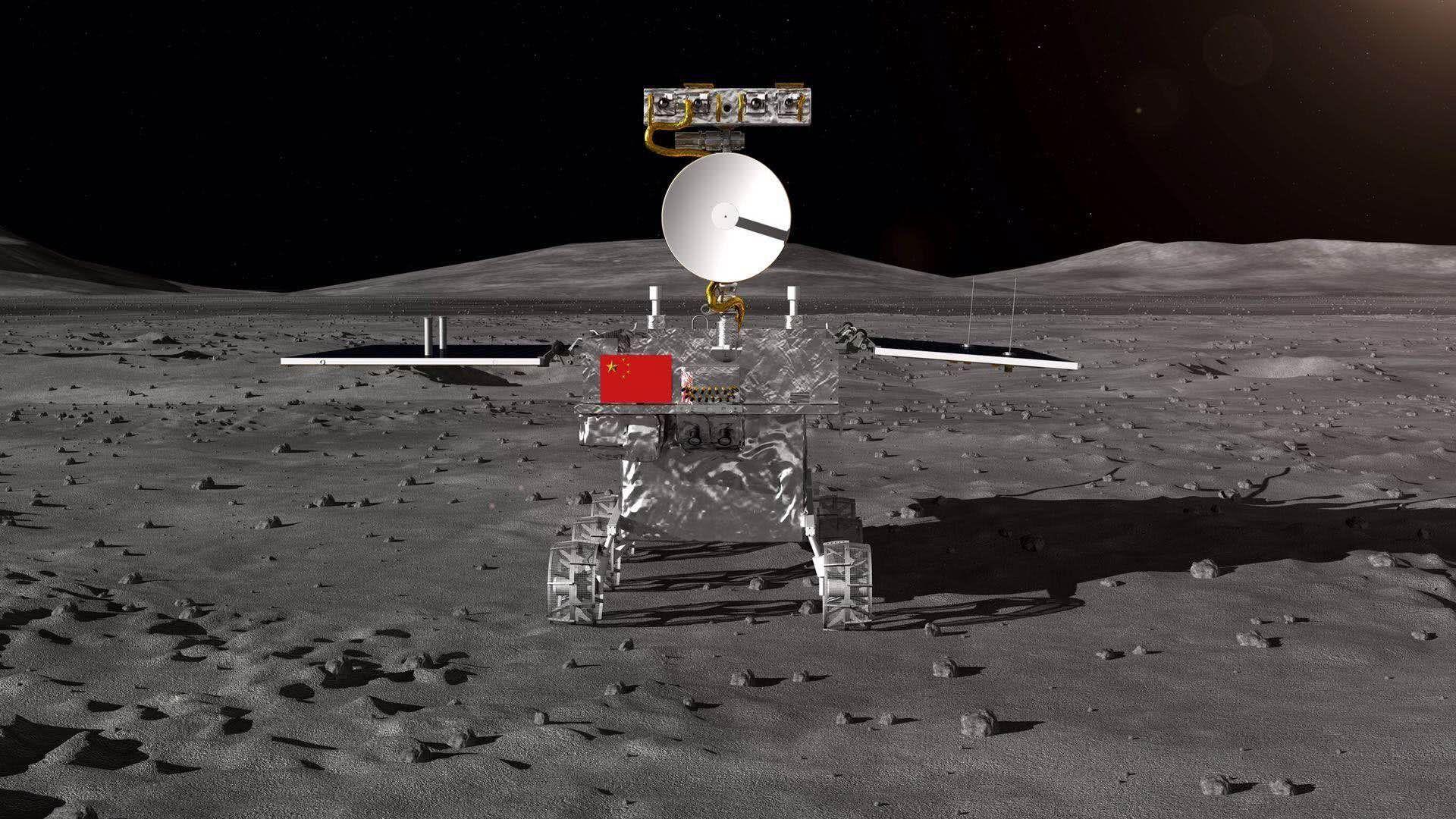 """嫦娥三号传回画面_嫦娥四号""""两器互拍""""即将开始 如何拍?有什么意义? - 知乎"""