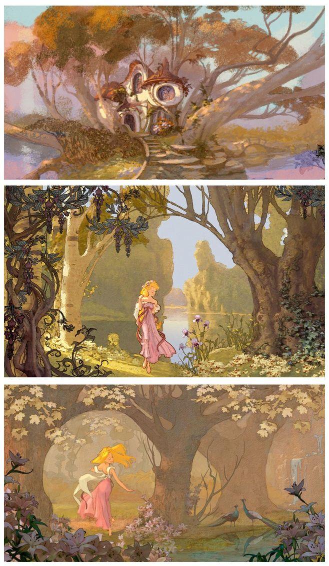 哪些动画片里有令人惊艳的场景/风景?