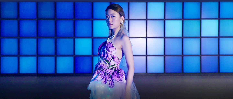 85后中国女科学家用脑电波让衣服变色