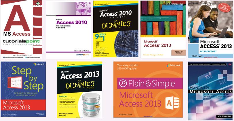 Access学习资源推荐——入门书籍篇