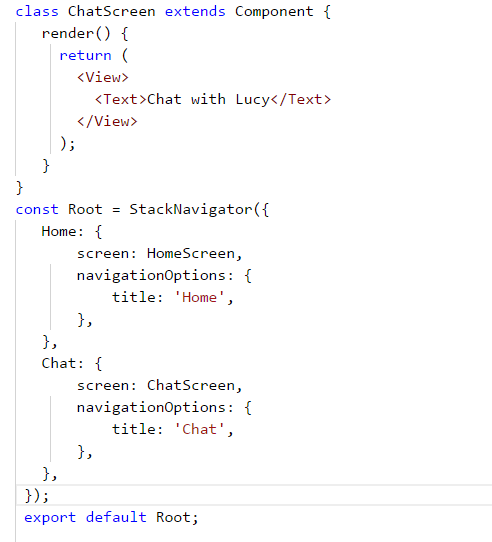 react-native组件react-navigation问题? - 知乎
