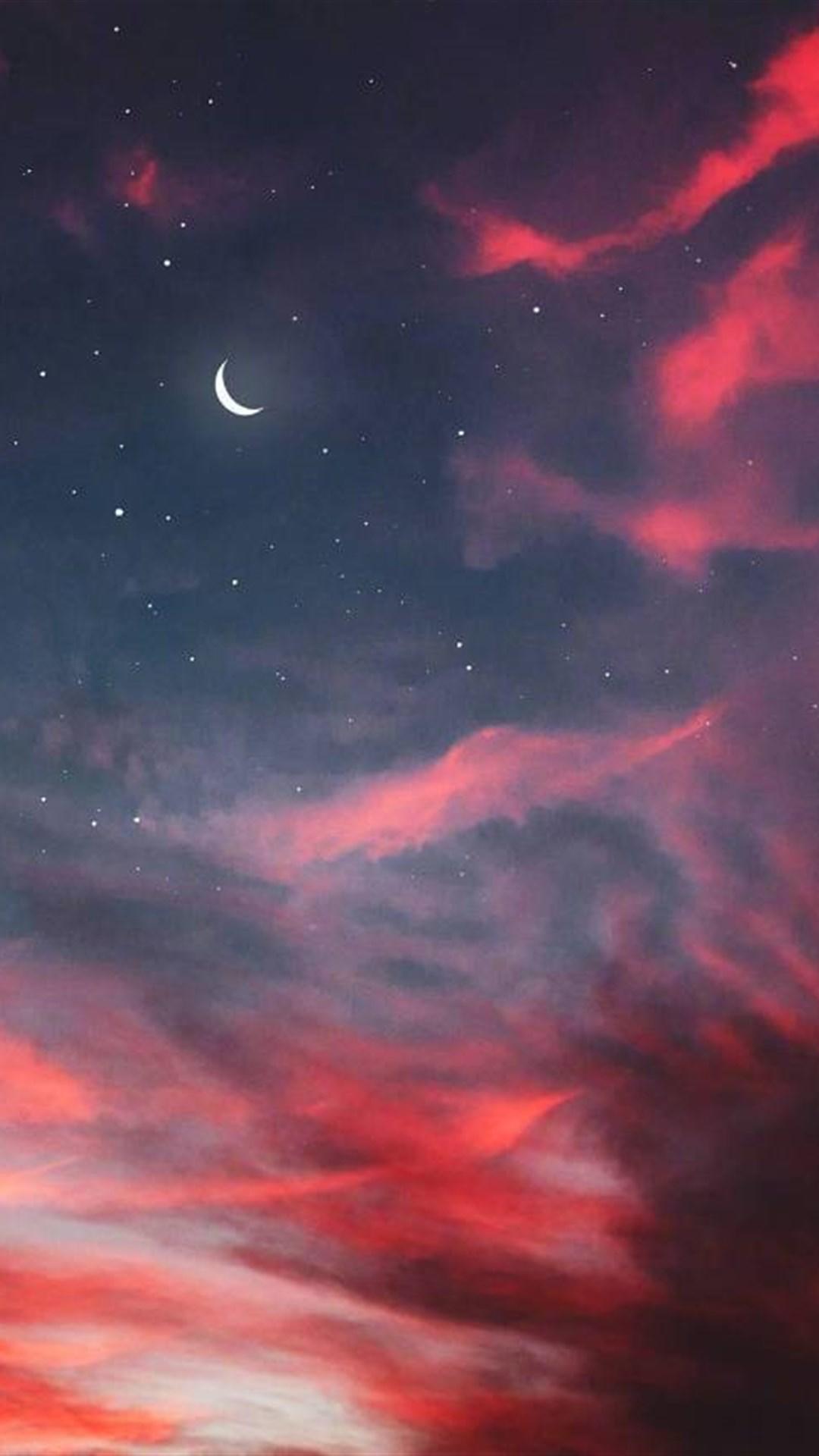 手机桌面壁纸高清_有哪些好看的关于星星月亮的壁纸? - 知乎