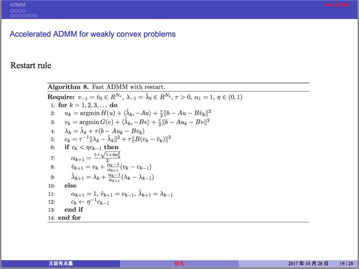 ADMM和Fast ADMM - 知乎