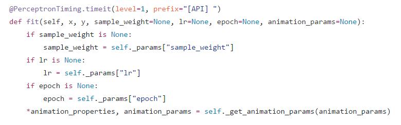 Python · SVM(一)· 感知机