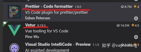 VS Code Prettier + ESlint 格式化Vue代码及遇到问题- 知乎