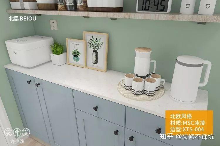 厨房石英石台面清理_厨房台面还得用石英石,只是容易被坑! - 知乎