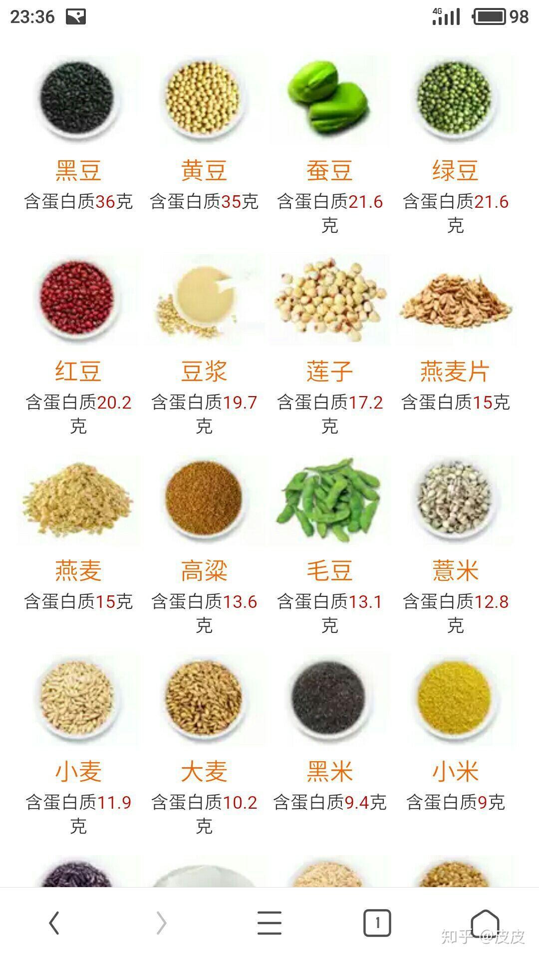 哪些食物蛋白质含量高,最好吸收的是什么?