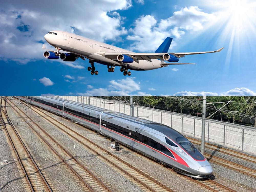 中国铁路(10):高铁和飞机,哪个建设加维护的经济成本总和更高?│脫苦海