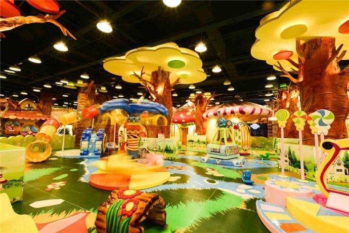 200平米的儿童乐园应该如何装修? 加盟资讯 游乐设备第1张