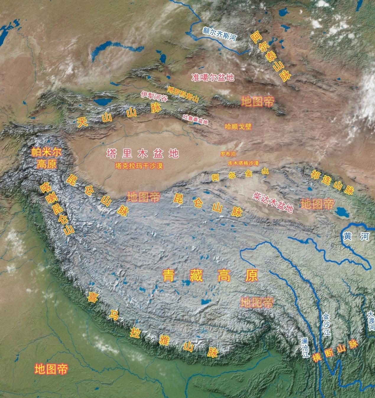 和田县地图_内蒙古阿拉善盟沙漠多,为何酒泉卫星发射中心在阿拉善盟? - 知乎