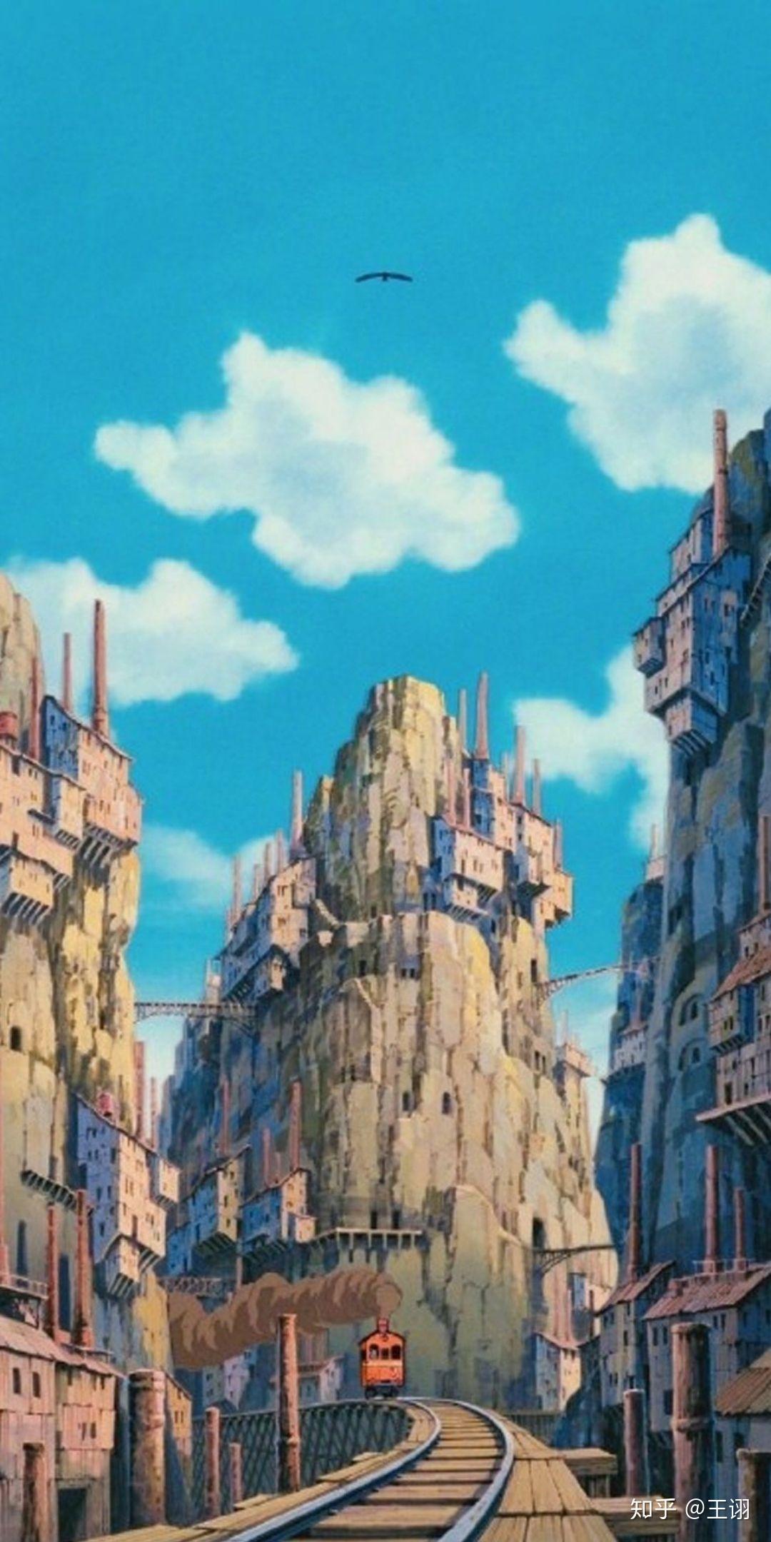 视频_有哪些好看令人难忘的宫崎骏动画里的高清桌面壁纸-知乎