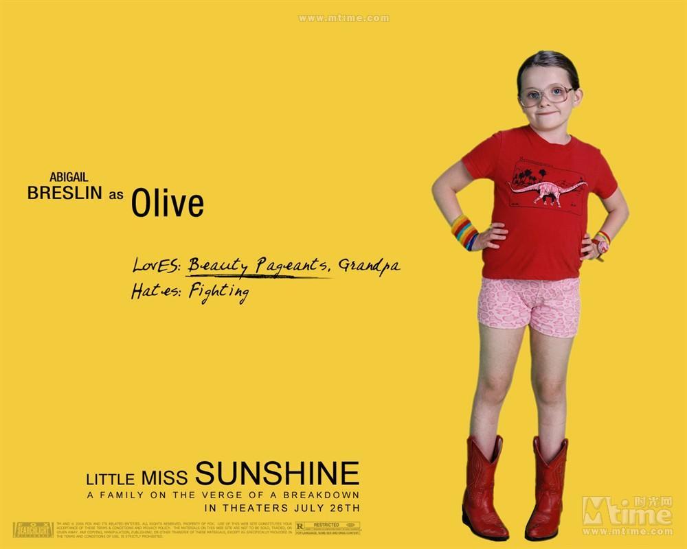 《阳光小美女》讲的是阳光还是小美女?