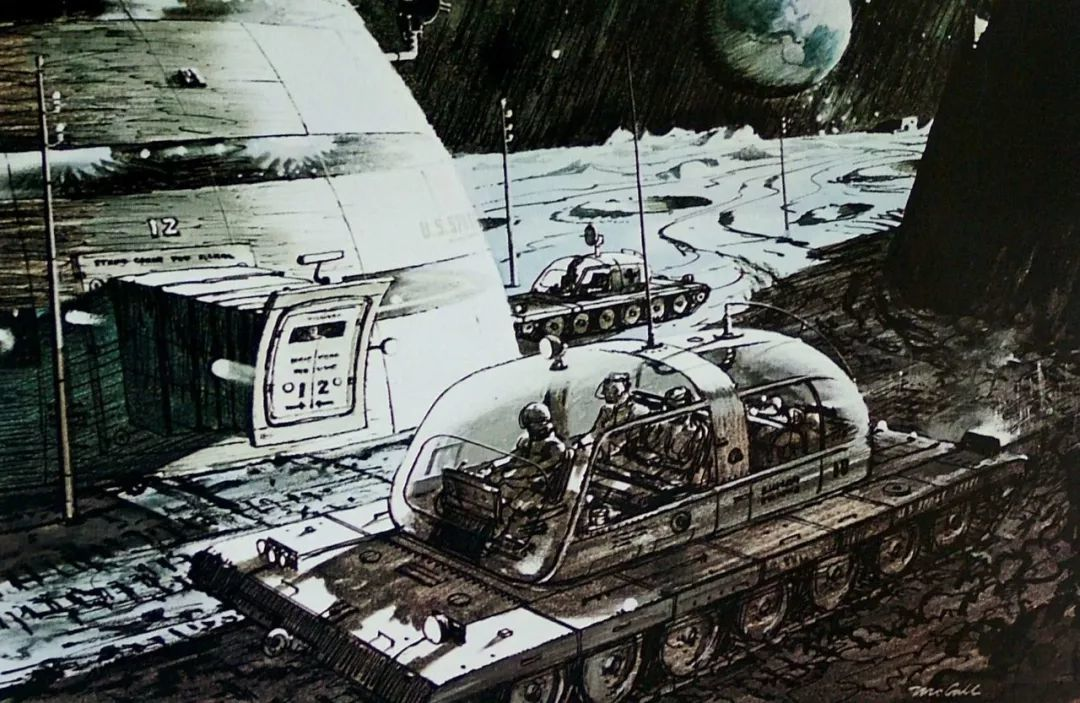 珍珠港 电影 2001_NASA御用插画师,太空科幻艺术家Robert Theodore McCall - 知乎