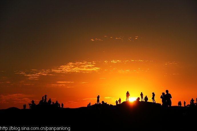 描写落日景象的片段_日出、日落、星辰满天与明月皎洁 - 知乎