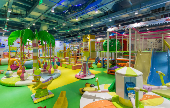 200平米的儿童乐园应该如何装修? 加盟资讯 游乐设备第3张