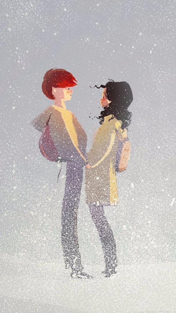 Картинки встреча влюбленных нарисованные, привет альбина красиво
