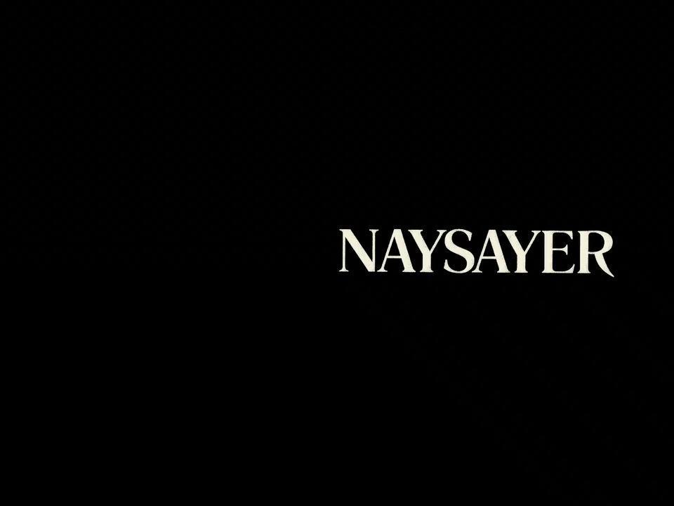 国际获奖反转短片赏析《naysayer》