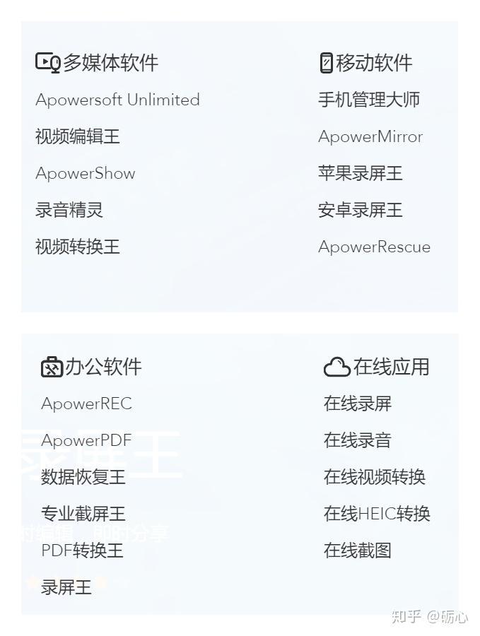 apowersoft 录 屏 王 破解