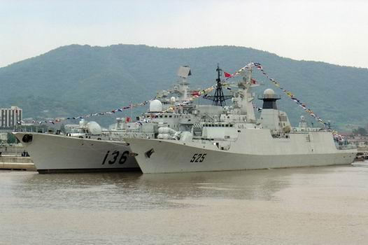 关于054型护卫舰525舰、526舰改造之我见