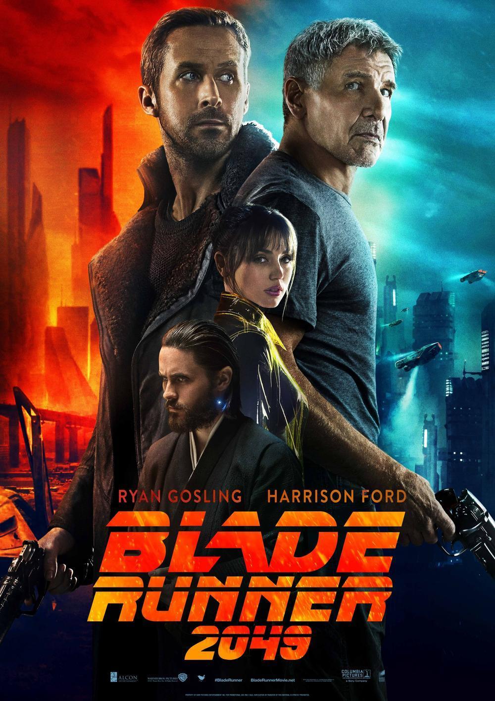 """《银翼杀手2049》阐述""""六个字""""的电影……"""