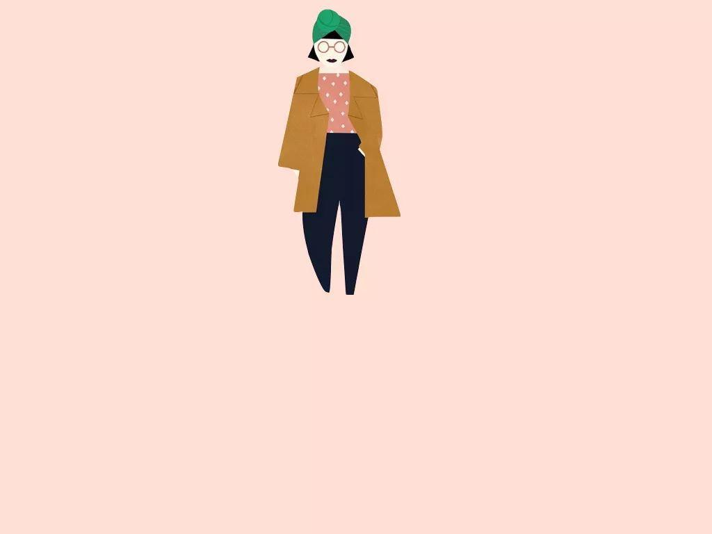 掌握经典的大衣内搭法则,让你秋冬时髦又暖和 | 女神进化论