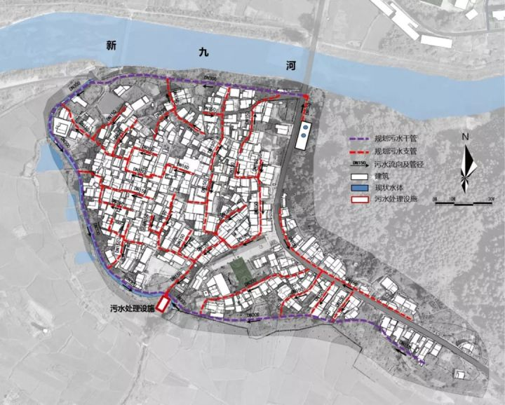 集聚型与分散型乡村排水设施规划策略研究
