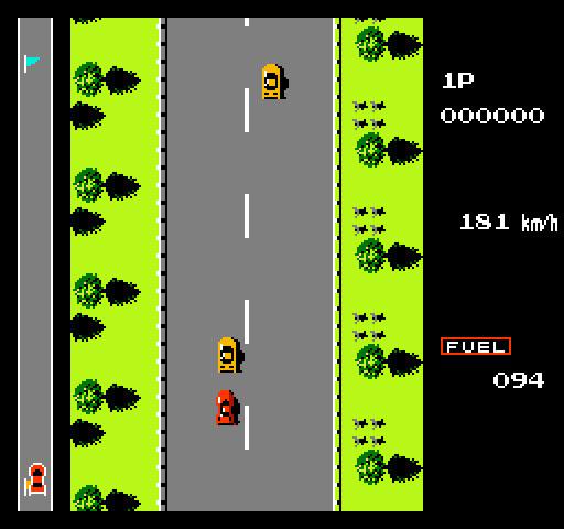 作为红白机上最普及的赛车游戏,《火箭车》隐藏了什么秘密?