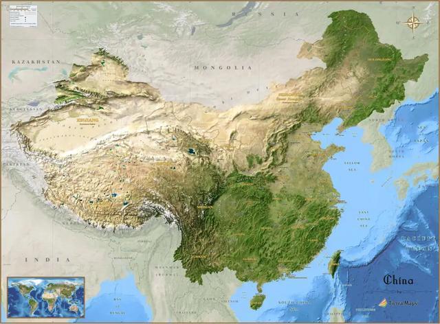 中国地缘VS美国地缘,谁才是真正的天选之子?